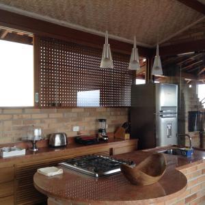 A kitchen or kitchenette at Villa La Dolce Vita