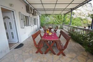 Balkon ili terasa u objektu Apartments Morinj