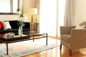 Un lugar para sentarse en Art Suites