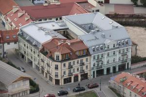 Apgyvendinimo įstaigos Barbacan Apartments vaizdas iš viršaus