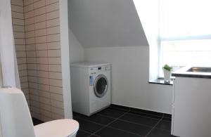 Et badeværelse på Hotel Strandvejen Apartment 3
