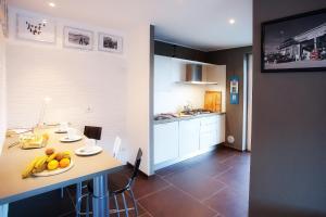 Küche/Küchenzeile in der Unterkunft Colonno Apartment