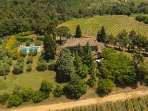 A bird's-eye view of Agriturismo Villa Panorama