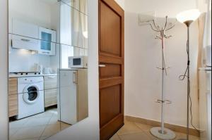 Salle de bains dans l'établissement Apartments U Staropramenu