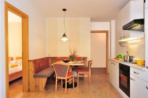 A kitchen or kitchenette at Residence Hofer