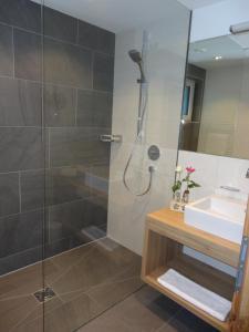 A bathroom at Chasa Allegria