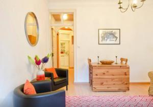 El salón o zona de bar de ROSA! Bairro Alto Concept Apartments