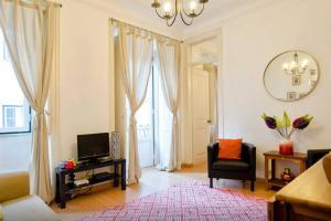 Zona de estar de ROSA! Bairro Alto Concept Apartments