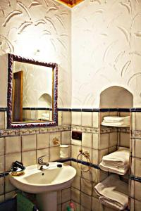 A bathroom at Casa Rural Elanio Azul