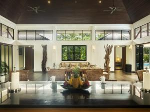 The lobby or reception area at Villa Galanga by Krabi Villa Company