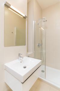 Salle de bains dans l'établissement Luxury Apartments D22
