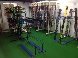 The fitness center and/or fitness facilities at Hakuba Grand Apartments