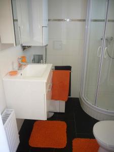 Ein Badezimmer in der Unterkunft Apartment Mödling