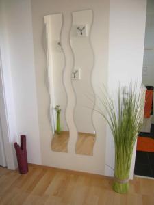 Ein Sitzbereich in der Unterkunft Apartment Mödling