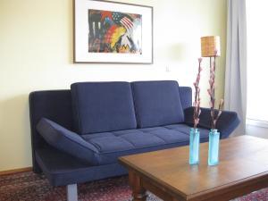 A seating area at Ferienwohnungen Familie Böckmann