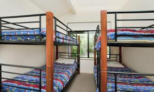 A bunk bed or bunk beds in a room at Holiday on the Terrace