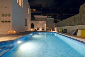 The swimming pool at or near Casa Agustin