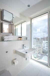 A bathroom at The Rosebery Aparthotel
