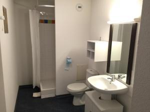 Salle de bains dans l'établissement Appartement bonascre