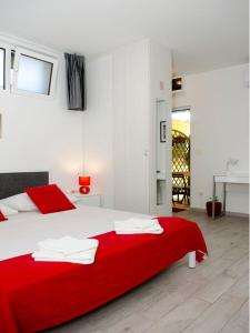A bed or beds in a room at Apartment Onyx