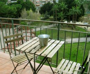 Un balcón o terraza de La Casa de Lara