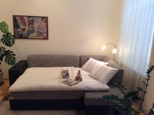 Vuode tai vuoteita majoituspaikassa Kranto Luxe Stay
