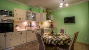 A kitchen or kitchenette at Apartment Elizaveta 2