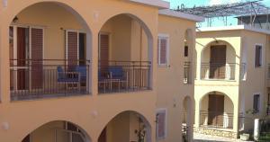 A balcony or terrace at Roda Pearl Resort