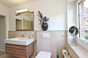 Ein Badezimmer in der Unterkunft Ferienhaus Ostseerausch