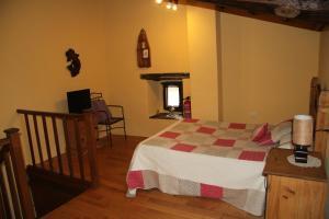 Cama o camas de una habitación en Ca María Santa