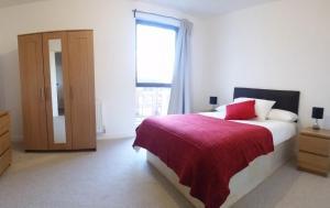 Cama ou camas em um quarto em Apartment Gibson Road