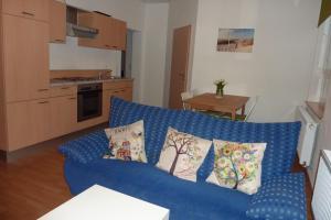 Ein Bett oder Betten in einem Zimmer der Unterkunft Ferienwohnung Willner