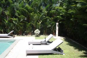 The swimming pool at or near Kamala Luxury villa