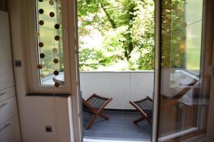 Un balcón o terraza de Apartment Hannover Top Citylage