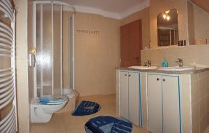 A bathroom at Apartment Na Rozcestí