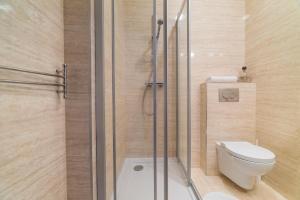 Łazienka w obiekcie Due Passi Apartamenty w Sopocie