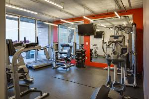 The fitness center and/or fitness facilities at Stay Alfred on 6th Avenue