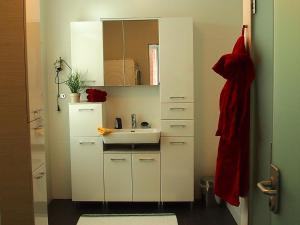 A kitchen or kitchenette at K-Apartment
