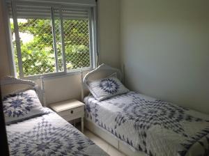 Cama o camas de una habitación en Apartamento Residencial Ghanem