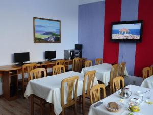 A restaurant or other place to eat at Tsolmon's Serviced Apartments