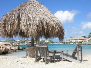 Пляж на территории виллы или поблизости