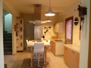 Η κουζίνα ή μικρή κουζίνα στο Aegina Holiday Home