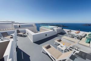 A balcony or terrace at Malteza Private Villa