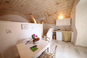 Kuchnia lub aneks kuchenny w obiekcie B&B Il Porto Di Ciccia'