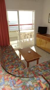 Zona de estar de Apartamentos Beni-Beach