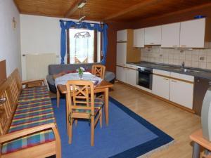 O bucătărie sau chicinetă la Ferienhof Fischer
