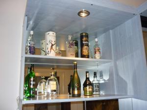 Drinks at Joe Apartman Budapest