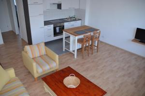 Küche/Küchenzeile in der Unterkunft GGAppartements