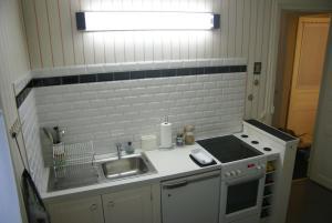 Appartement Cosy et Très Parisien廚房或簡易廚房