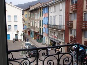 Balcon ou terrasse dans l'établissement Apartment Natik